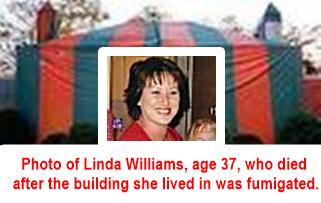 Termite Poison Gas Kills Innocent Mother age 37
